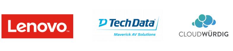 Lenovo TechData Cloudwürdig Logos