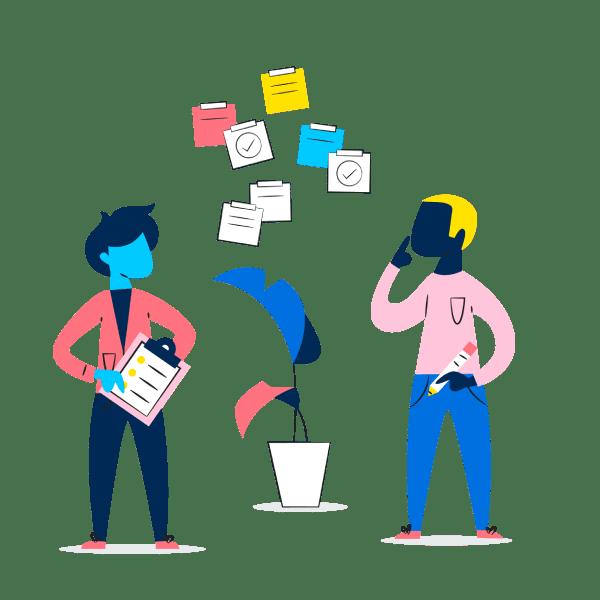 Asana Guided Evaluation durch die New Work-Experten von Cloudwürdig